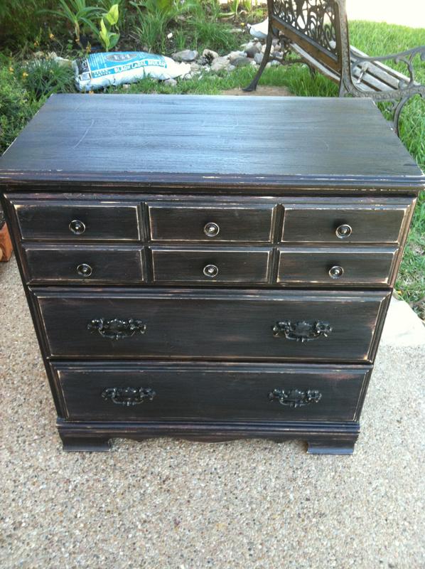 black distressed dresser megan s blog